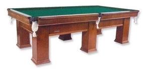 Mesa Sinuca Bilhar Snooker Semi-oficial Itajaí 2,34m X 1,17m