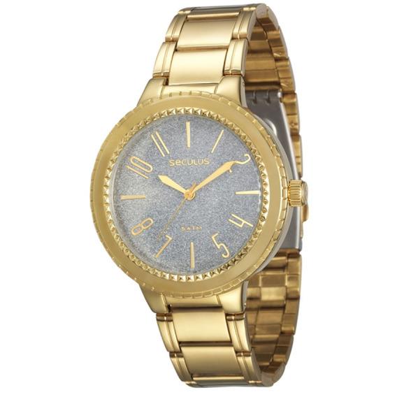 Relógio Seculus Feminino Moda 60660lpsvds1.