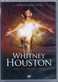 Dvd Whitney Houston - Live U.s. Marines 1991 - Novo***