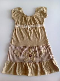 Vestido De Malha Crú