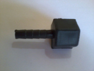 Conector Hembra 3/8 Npt A Espiga 1/4 Plástico
