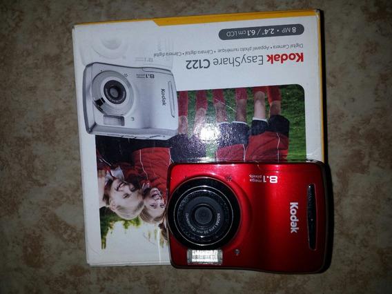 Camara Kodak C122 Roja