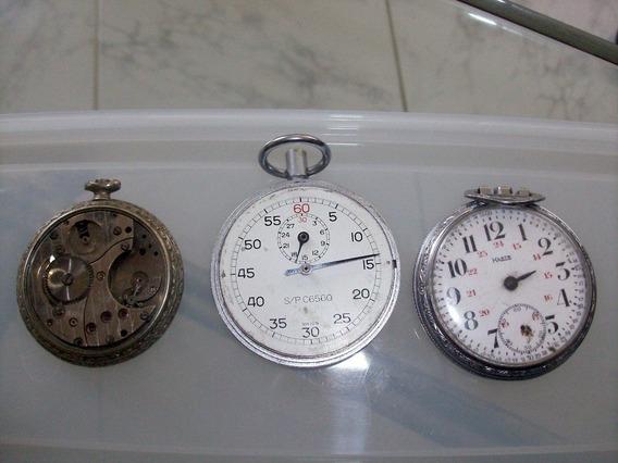 Lote De Relojes De Bolsillo