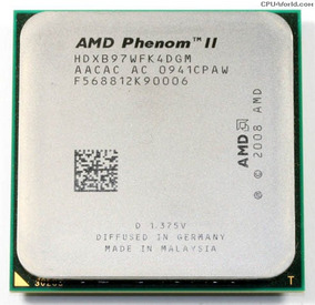 Phenom Il 2 X4 B97 3,2 Ghz 95w Socket Am3 Am2+ Com Garantia!