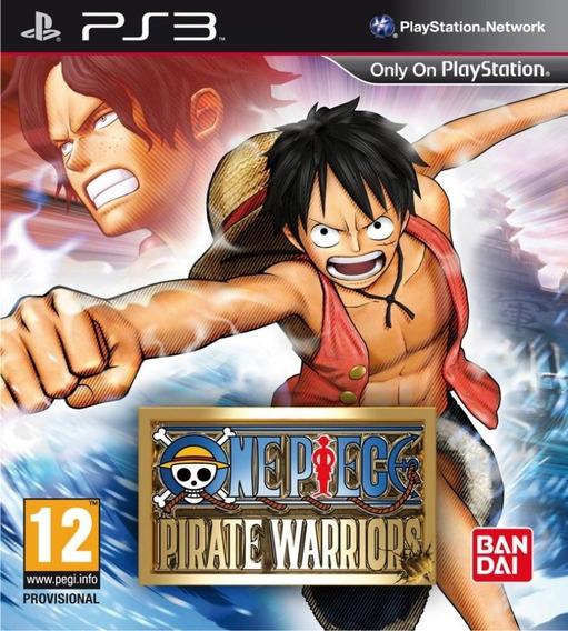 One Piece Pirate Warriors 1 Ps3 (midia Digital)