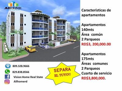 Gran Oportunidad Apartamentos 3 Hab. En Villa Aura