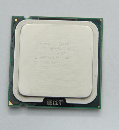 Processador Intel Core 2 Duo E6550 2.33ghz 4m 1333mhz Novo