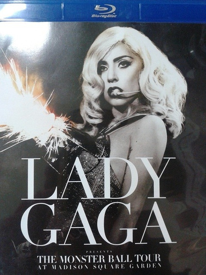 Lady Gaga - The Monster Ball Tour At Madison - Blu - Ray