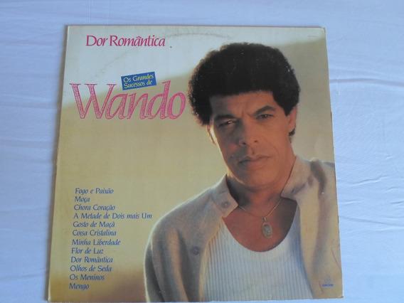 Lp - Wando - Dor Romântica (1989) - Nunca Tocado!