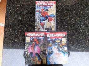 Homem Aranha Edições 1 A 3 Lote Completo 1997 Frete Grátis