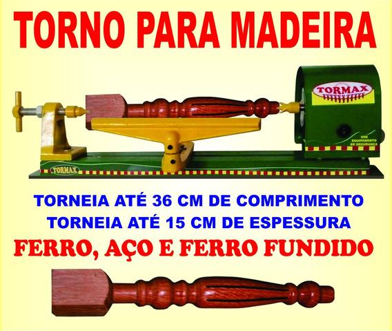 Torno Hobby Para Madeira 60 Cm Frete Grátis