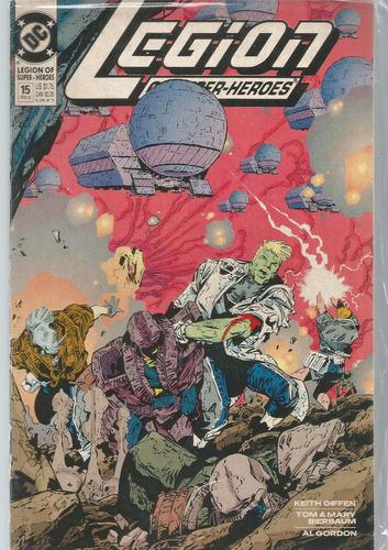 Legion Of Super-heroes 15 - Dc - Bonellihq Cx201 M20