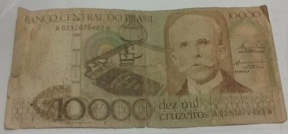 Cédulas 10 000 Cruzeiros Rui Barbosa