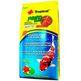 Ração P/ Carpas E Kinguios Tropical Pond Sticks Mixed 4kg