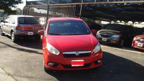 Fiat Grand Siena 1.4 C/gnc Full Modelo 2013 Color Rojo