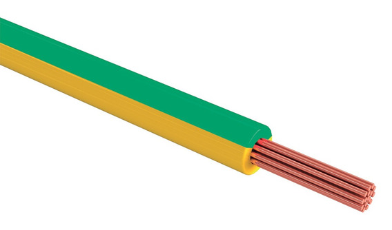 Cable Thw Cal 8 Awg Color Verde 100m Sanelec 4075