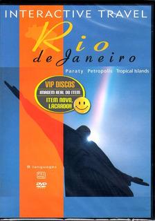 Dvd Rio De Janeiro Paraty Petrópolis Interactive Travel Novo