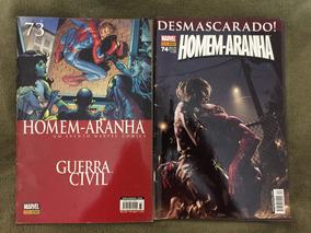Hq Homem-aranha Marvel Nº 73 E 74