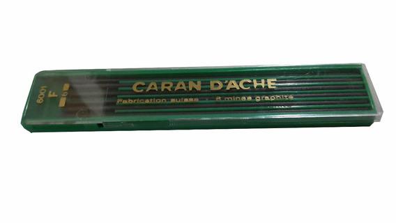 Minas de grafito Caran dAche 3 mm, 6 unidades