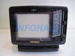 Defeito Tv Rádio Continental Cores Cr-5a Ler Anúncio