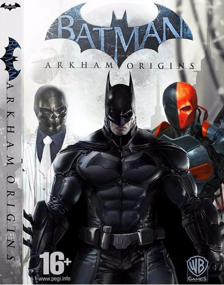 Batman Arkham Origins Pc Envio Em 5 Minutos Original!!