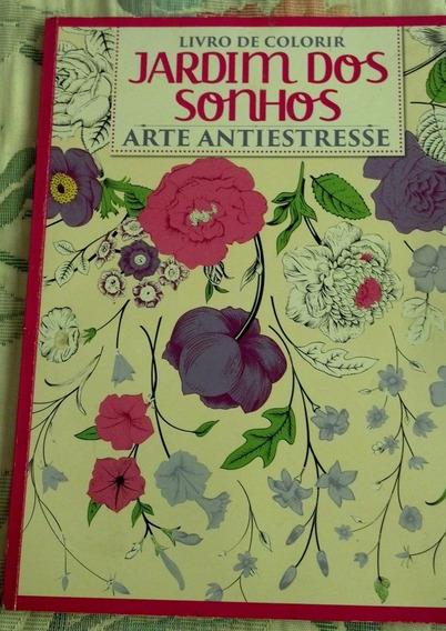 Livro De Colorir Jardim Dos Sonhos Arte Antiestresse