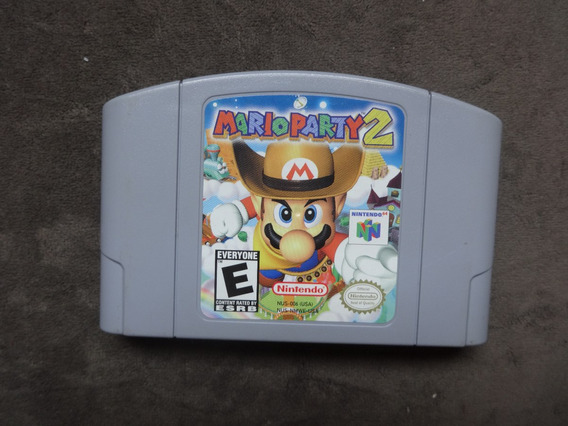 Mario Party 2 Original Americano.