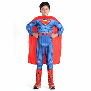 Fantasia Infantil Super-homem Premium Tamanho G - Bonellihq