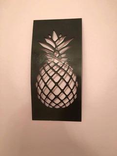 Piña (abacaxi) - Imágenes Metálicas Para Decoración Interior