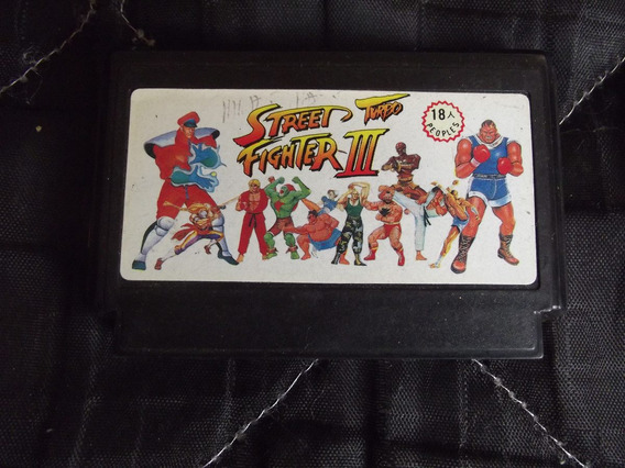 Street Fighter 3 Turbo Para Nes 60 Pinos