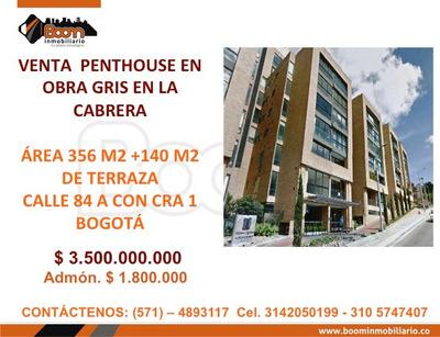 *venta Penthouse Cabrera 356 M2