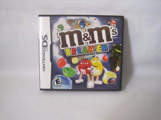 Juego M&m Break Em Pa Consola Nintendo Ds Usado
