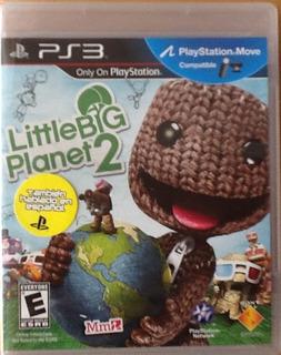 Little Big Planet 2 Ps3 Hablado En Español