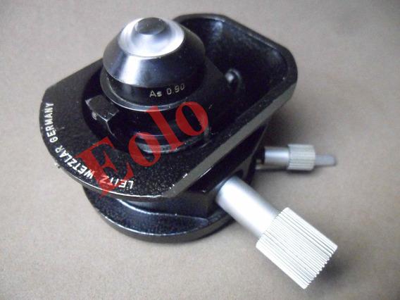 Microscópio Leitz Leica * Peça * Flip Out Condensador 0,90 &