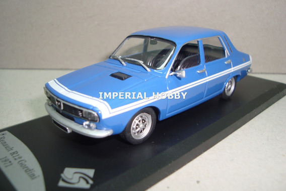 Renault R12 Gordini 1971 Clasico En Argentina - Solido 1/43