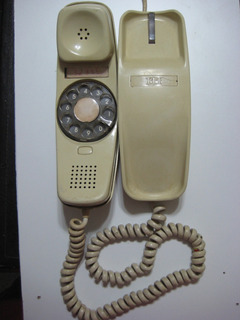 Antiguo Teléfono Itt De Góndola Disco