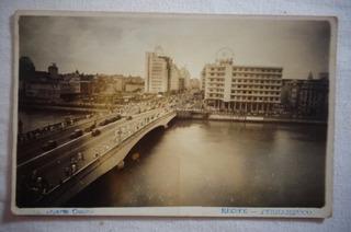 Cartão Postal Pernambuco Recife Ponte Duarte Coelho