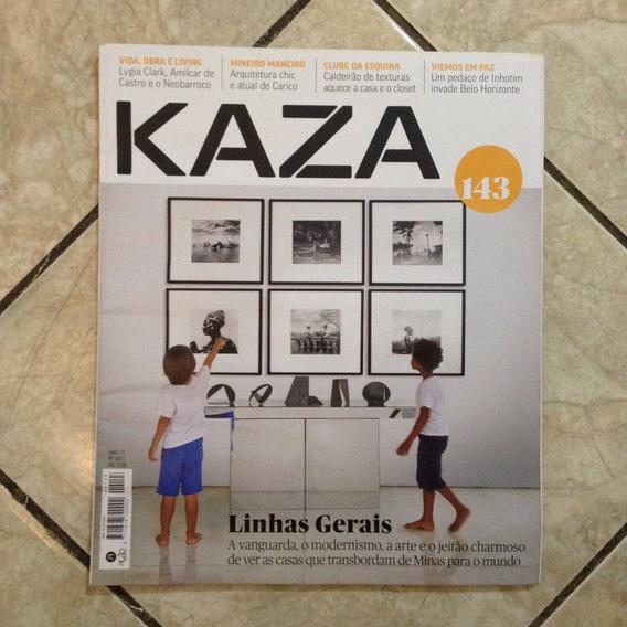 Revista Kaza 143 4/2015 Linhas Gerais Minas Para O Mundo C2