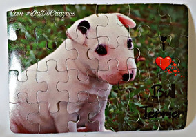 Quebra Cabeça Personalizado Bull Terrier