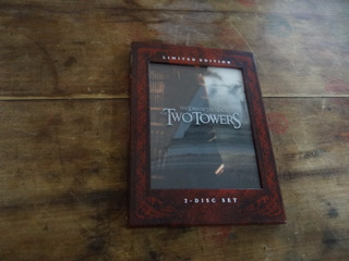 Dvd The Lord Of The Rings: The Two Towers ¡original!