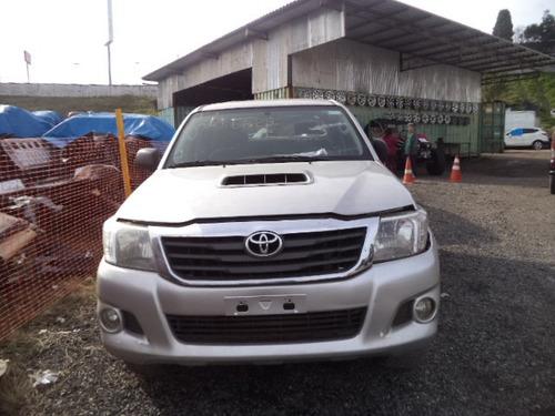 Sucata Toyota Hilux Srv 3.0 Diesel 2013