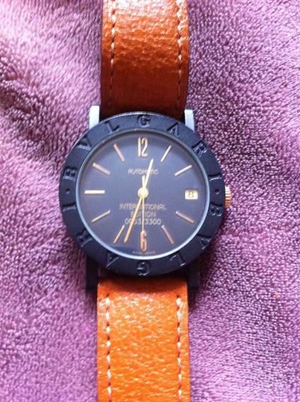 Relógio De Pulso Bvlgari International Edition Unissex