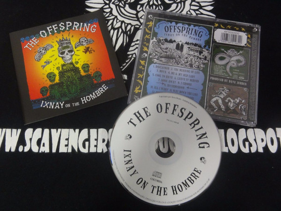 Cd Usado The Offspring - Ixnay On The Hombre