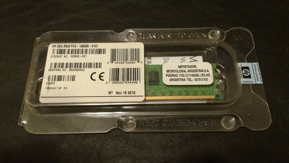 Hp 2gb (1x2gb) Dual Rank X8 Pc3-10600r-9 Kit