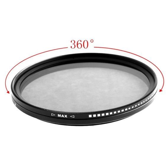 Filtro Nd 2 A 400 - Densidade Neutra Variável - 72mm - Fotga