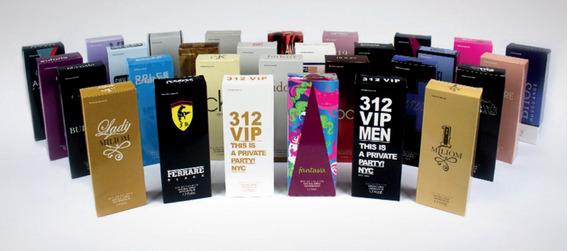 Perfumes Joy Essência Kit Com 5 Perfumes .