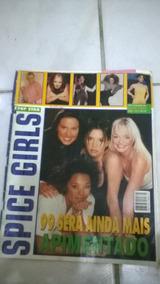 Revista Com Pôsteres Spice Girls 1