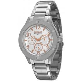 Relógio Seculus Feminino Multifunction 50020l0sgns1.