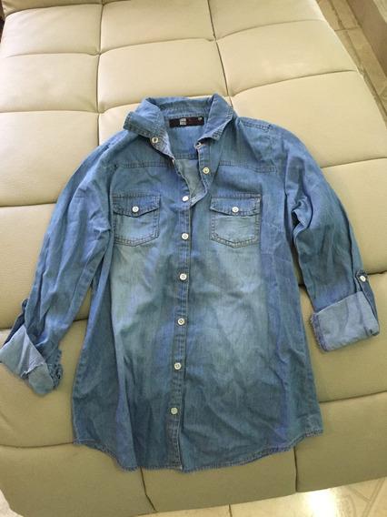 Blusa Color Azul Talla Ch S