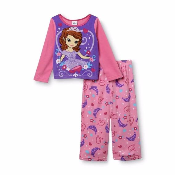 Conjunto Pijama Sofia Disney (2 Anos) Fleece - Original Eua
